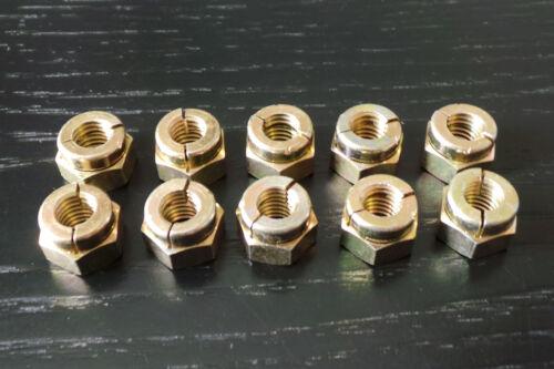Aerotight Zinc Plated Manifold Nut  M8 x 1.25 Pitch Inlet Exhaust