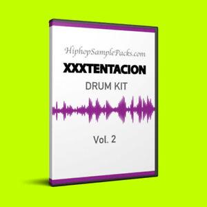 Details about 2019 XXXTENTACION DRUM KIT Vol  2 SAMPLE PACK Wav FL Studio,  Ableton