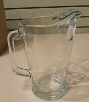 Pottery Barn Glass Beer Pitcher Brand
