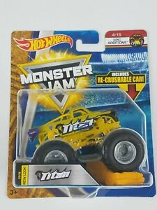 Hot-Wheels-Monster-Jam-TItan-1-64th-Monster-Truck-Re-crushable-car-Epic-Addition