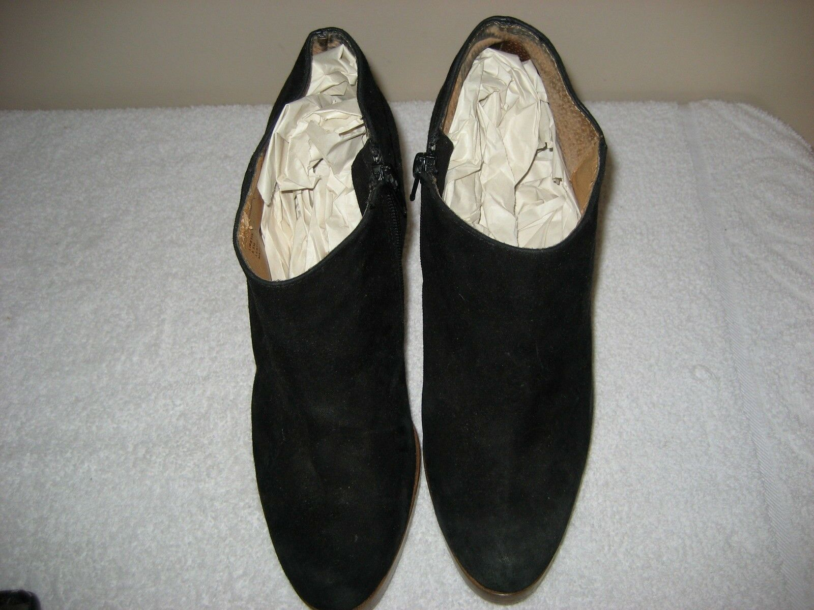 Steve Madden lipstik 8 1 2 M Negro Negro Negro Gamuza botas al Tobillo Zapatos De Tacones Altos Botines  Sin impuestos