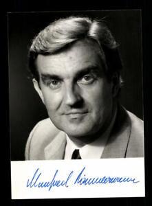 Sammeln & Seltenes Politik Manfred Timmermann Foto Original Signiert ## Bc 145525