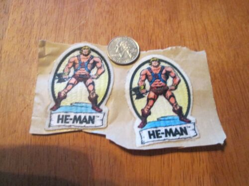 VINTAGE HE-MAN PATCH SWEET LOOKING 2.5 INCHES  RARE