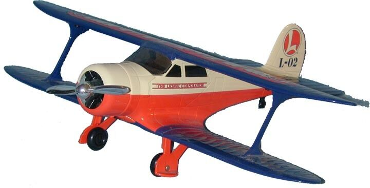 337500 EASTWOOD EASTWOOD EASTWOOD LIONEL® BEECHCRAFT STAGGERWING BANK C-10 MINT-NEW 168b3c
