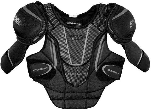 SherWood T90 Next Generation Senior Shoulder Pads, Size Medium
