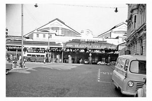 bb0623-Brighton-Railway-Station-in-1962-Sussex-photograph-6x4