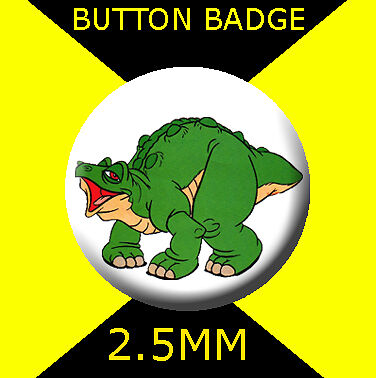CULT TV  2 THE LAND BEFORE TIME SPIKE Button Badge 25mm