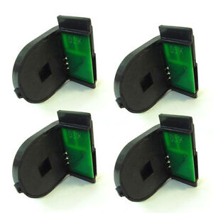 Details about 5 x Toner Chip for Fuji Xerox DocuPrint C2100 C3210 C3210DX  CT350485 ~ CT350488