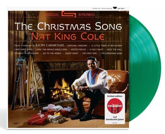 Nat King Cole The Christmas Song Target Limited Ed LP Translucent Green Vinyl for sale online   eBay