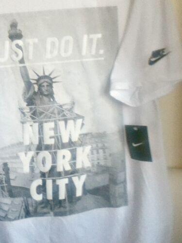 Libertà 914292 Bianca York New Della Originale 100 Statua City Nike Maglietta xABC6qw7