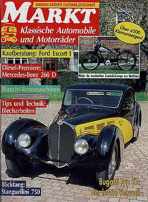 Automobilia Oldtimer Markt 1992 6/92 Bianchi Bugatti T57 Escort Gaz Zim 12 Zil Stanguellini In Den Spezifikationen VervollstäNdigen Zeitschriften