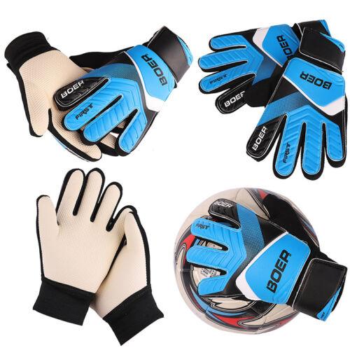 Kids Teens Football Soccer Goalkeeper Goalie Training Finger Protector Gloves