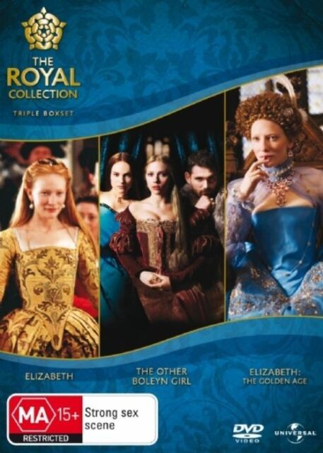 The Other Boleyn Girl / Elizabeth / Elizabeth: Golden Age (DVD) 3 MOVIES LIKE NE