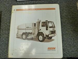 elgin models e f eagle street sweeper truck parts catalog manual rh ebay com Elgin Eagle Sweeper Elgin Pelican Sweeper Manual