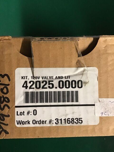 120V Valve and Lit Bunn 42025.0000 Kit