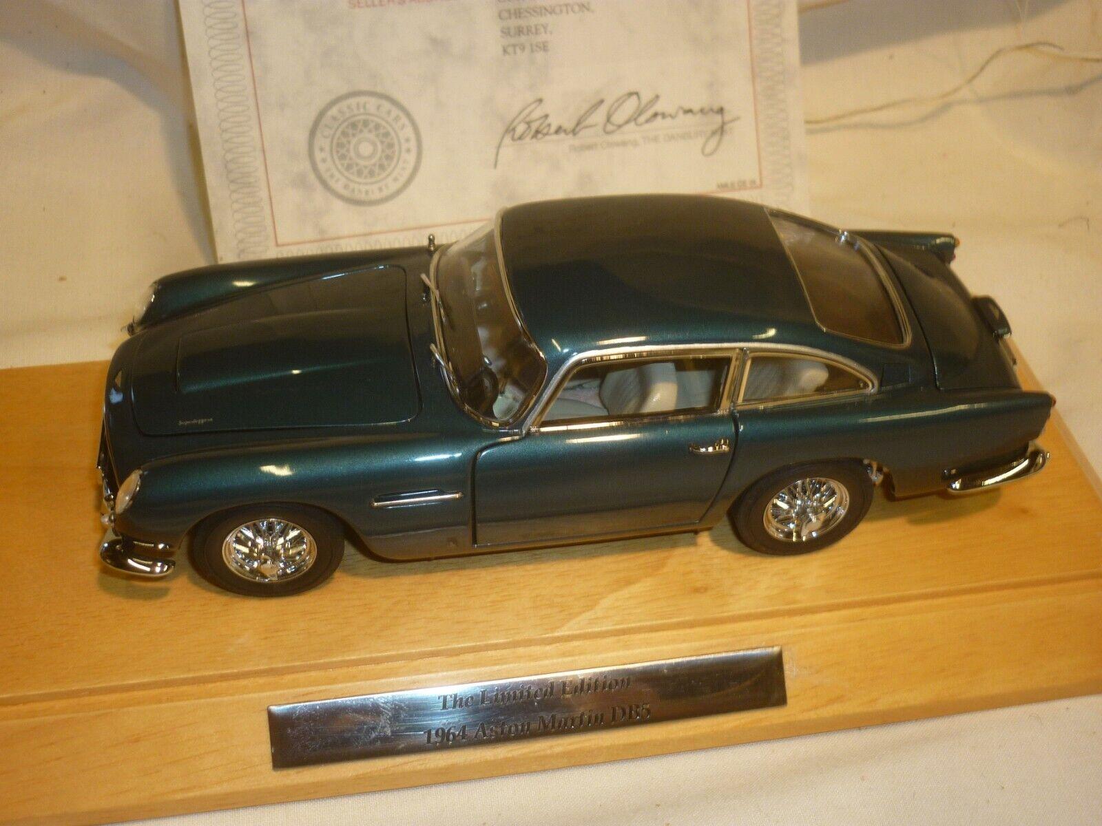 la mejor selección de Un Danbury Danbury Danbury Mint de un modelo a escala de un 1964 Aston Martin DB5 Con Caja Claro  ofreciendo 100%