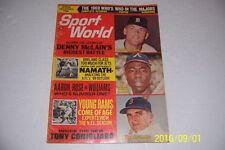 1969 Sport World BOB GIBSON Denny McLAIN No Label HANK AARON Tony CONIGLIARO
