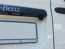 Viano & Vito Rückfahrkamera Mercedes-Benz Hilfslinien abschaltbar 180° Aluminium
