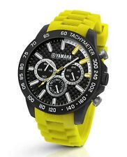 TW Steel Yamaha Factory Racing 45mm Yellow Strap Chronograph Watch Y120