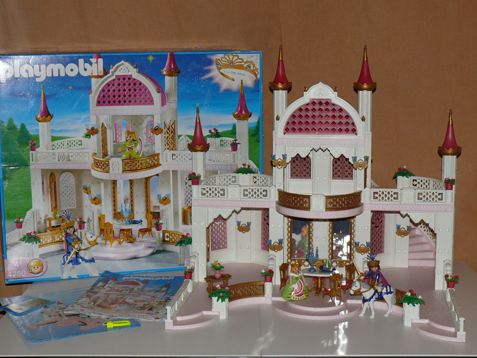 Playmobil Schloss 4250 TOP 99% komplett mit OVP + BA Märchenschloss Prinzessin