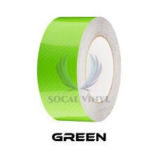 7d High Gloss Carbon Fiber Racing Stripes Vinyl Wrap Rally Sticker 102550 Feet