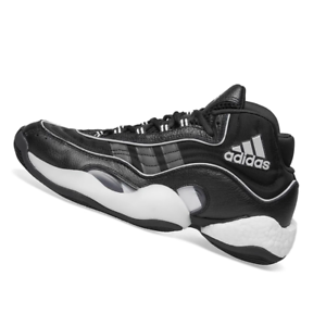 ADIDAS-MENS-Shoes-98-CRAZYBYW-Core-Black-amp-Grey-Two-G26807