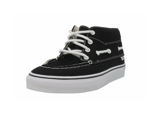555b25509ff3a VANS Shoes MEN Sizes Skateboarding Sneakers Chukka Del Barco Black Canvas