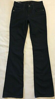 $ 178 Nuova Con Etichetta Joe's Jeans Sz 24 00 Taylor Lavaggio Blu Scuro Curvy