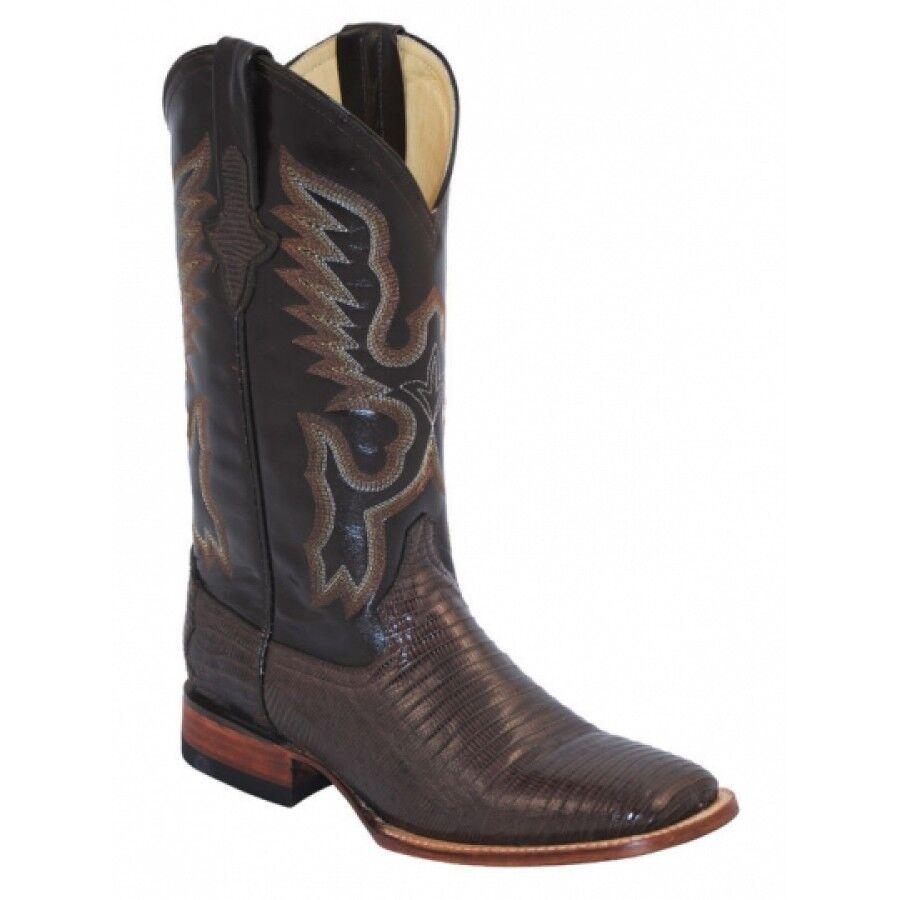ahorra hasta un 30-50% de descuento Ferrini Mujer Teju Lagarto S-TOE botas Cowboy Cowboy Cowboy 811193-09, Chocolate, b  venta mundialmente famosa en línea