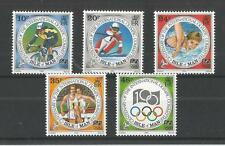 I.O.M 1994 OLYMPIC COMMITTEE SG,621-625 UM/M N/H LOT R105