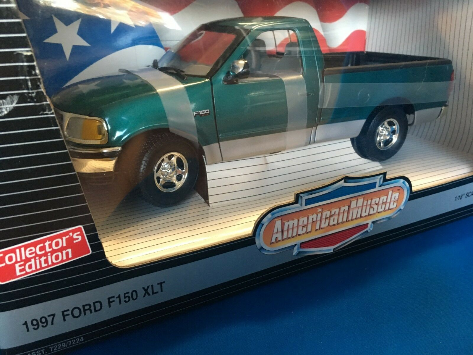 1997 FORD F-150  XLT  ERTL COLLECTIBLES  1 18 AMERICAN MUSCLE SERIES