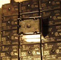4 Panasonic Js1-12v-f Relays 10a 12v 12vdc Js 5-pin Miniature Power Spdt