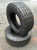 2 Backhoe Tires 11l-16 - F3 12 Ply Rating -11lx16 Backhoe/implement Tires