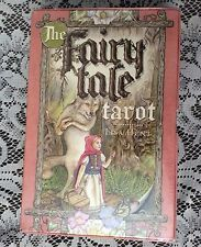 The Fairy Tale Tarot Cards Deck Book Lisa Hunt OOP  NEW Sealed Collectible Set