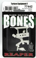 Bones Torture Equipment 1 W3 Reaper Miniatures Rpr77442