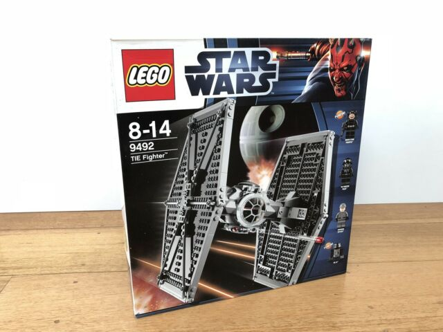 LEGO TIE Fighter 9492 STAR WARS Retired 2012 set Brand New Never Opened