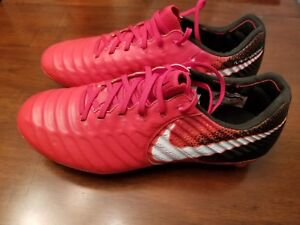 online store 1977c 13e60 Details about Nike Tiempo Legend VII FG Mens Soccer Cleats 897753-617  FIRE&ICE Red Black $230