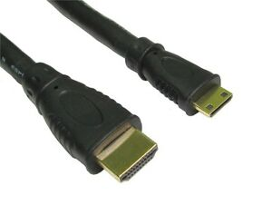 3m-MINI-HDMI-Cable-Type-A-to-Mini-C-v1-4-High-Speed-With-Ethernet-FULL-HD-GOLD