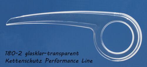 Fahrrad Kettenschutz Dekaform Performance Line transparent für 33 bis 38 Zähne*