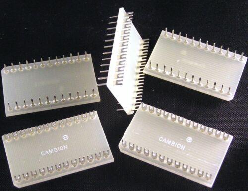 Cambion 702-3733 Dil 24 Revolver Pin Komponente Montage Board 5 Tlg Oma0088