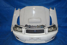 Subaru Forester SG5 SG9 1st ver 2001 front bumper cross sports fog lights JDM