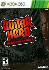 Guitar Hero: Warriors of Rock (Microsoft Xbox 360, 2010) $1 NO RESERVE