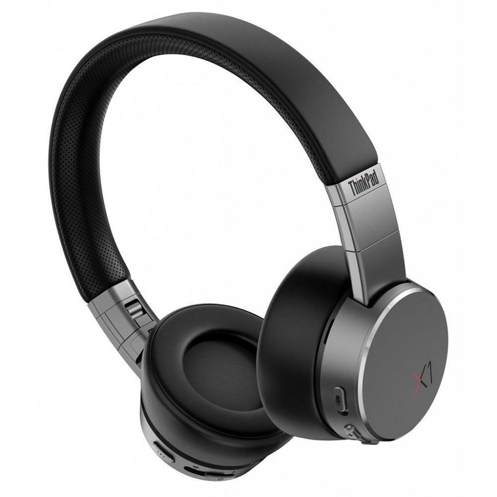 Lenovo 4XD0U47635 Thinkpad X1 Active Noise Cancellation Headphones, Black and   Ebay