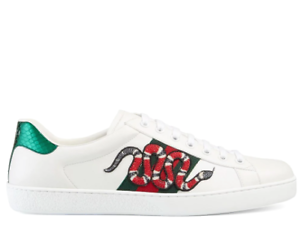 Gucci Ace Embroidered Snake Men's