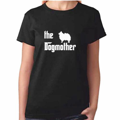 POMERANIAN T Shirt Ladies Dog Mother TShirt Pom Dog Clothing Gift Mother Day