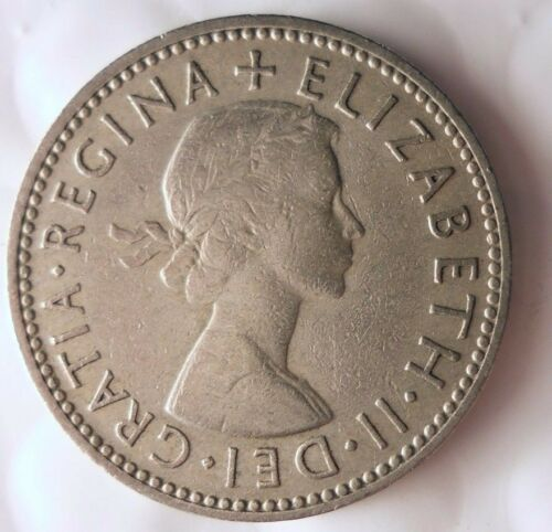 Excellent Coin 1954 GREAT BRITAIN SHILLING Shilling Bin A FREE SHIP
