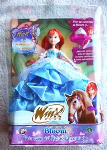 Winx Club Deluxe Doll: Bloom, Princesse Enchanted Kingdom (poupée) Tout neuf dans sa boîte