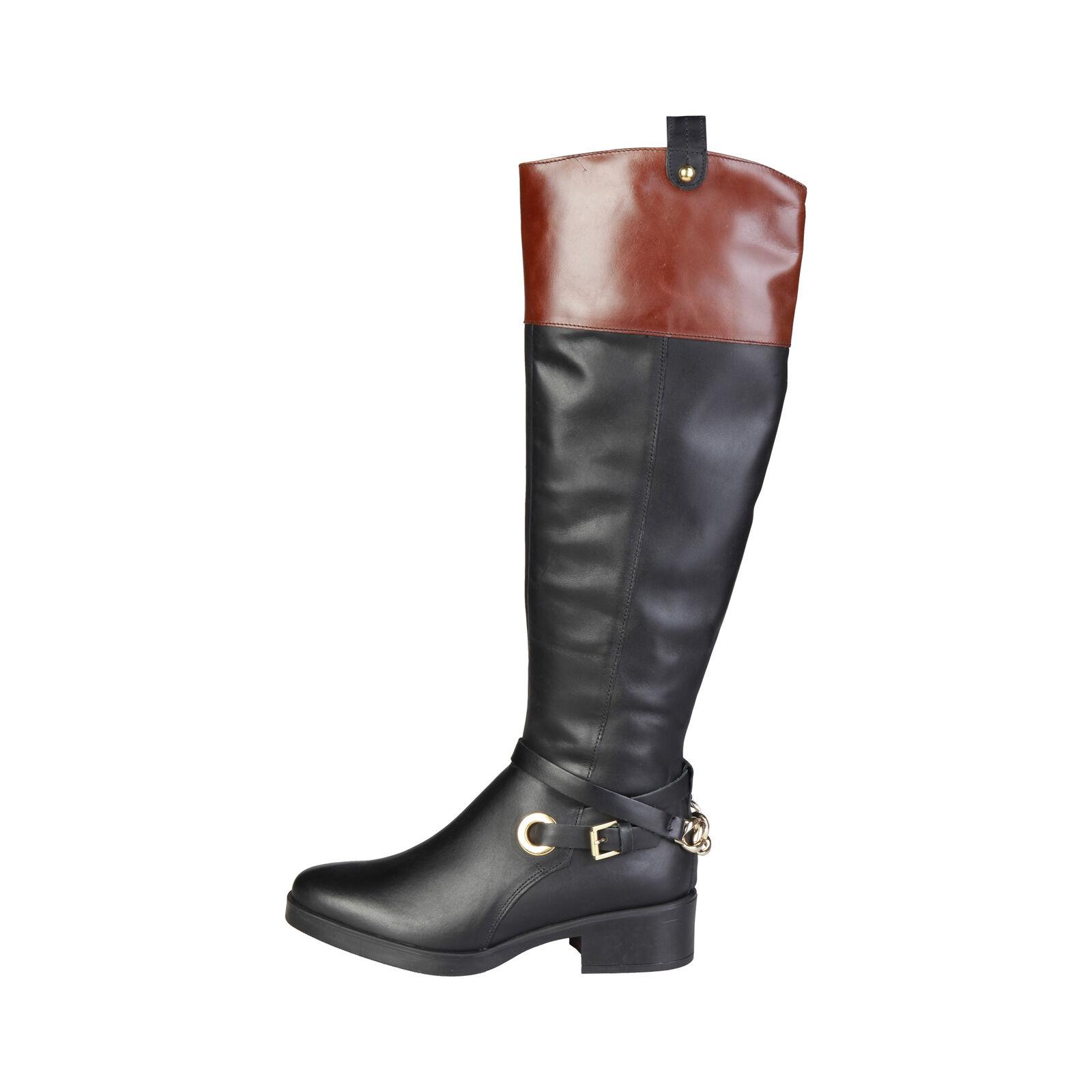 ca7b0d91d Pierre Cardin señora botas zapatos botas botines altos cuero genuino negro