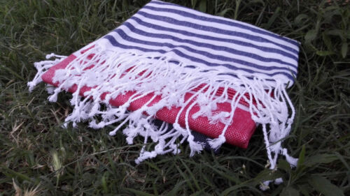 100/% Cotton Hammam Beach  Towel Anchor First Quality Turkish  Peshtemal