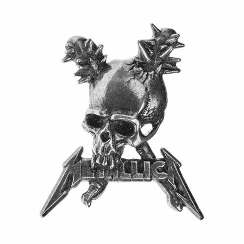 Alchemy Rocks Official Metallica Damage Inc Pin Badge Pewter//Metal Merchandise